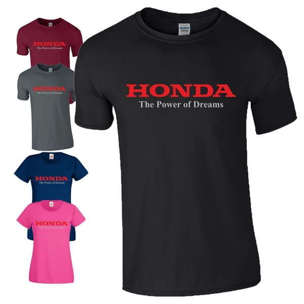 Honda Die Kraft der Träume T-Shirt Motorrad Motorrad Rennen MotoGP Herren Damen C Funny versandkostenfrei Unisex Casual