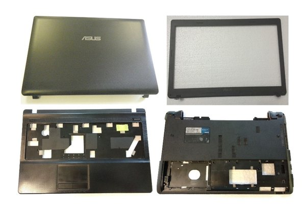 Used for ASUS X54C X54H Lcd rear cover/ Lcd Front Bezel Cover/Palmrest Cover/