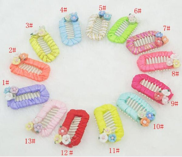 2018 New Hand winding Pet Hair Clip Dogs Grooming Accessories Cute Hair Clips Handmade Pet Hair CLIP Accessories 20pcs/lot