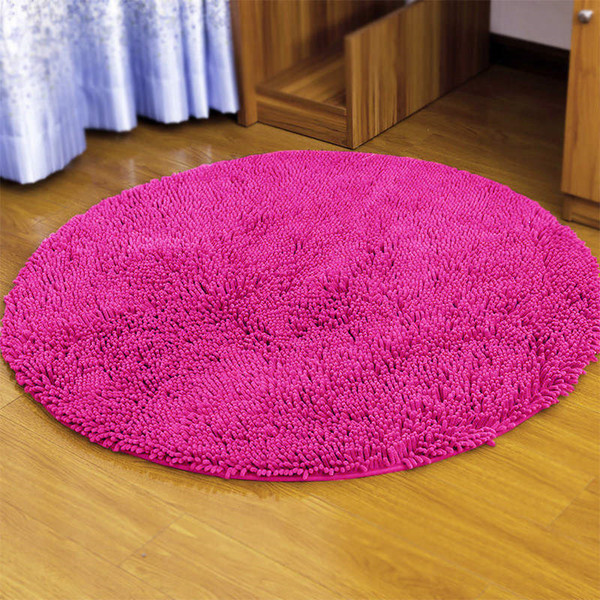 Admirable 2019 Computer Chair Cushion Bedroom Floor Mat Swivel Chair Floor Carpet Microfiber Circular Mat Living Room Study Doormat Super Soft Solid Rugs From Machost Co Dining Chair Design Ideas Machostcouk