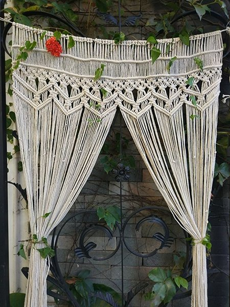 Wedding Decorations Macrame Wall Boho Decor Party Backdrop Southwestern Style Fibre Art Nursery Living Wall Tapestry Booth Studio Props