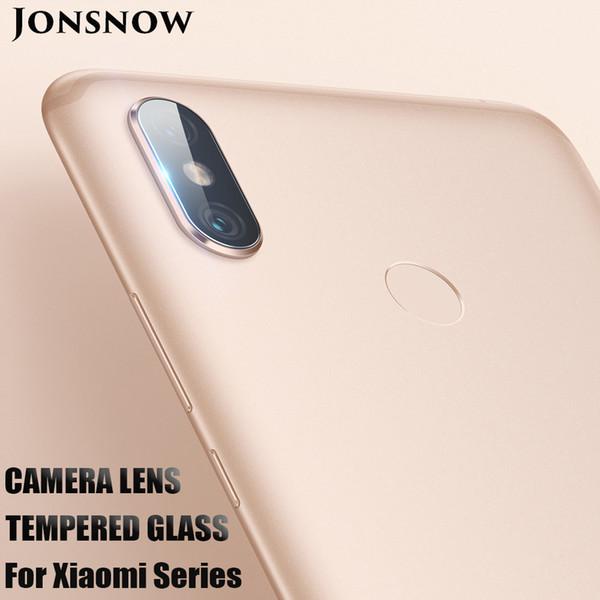 Jonsnow para xiaomi pocophone f1 vidro da câmera para xiaomi mi a2 lite / mi max 3 / redmi 6a / mi8 se limpar lente da câmera película protetora