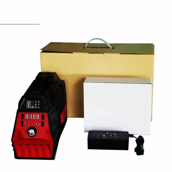 110 В переменного и постоянного тока 500 Вт Мини ИБП Портативный Power Bank Power Bank Power Pack Литий-ионная литиевая батарея для дома чрезвычайных ситуаций и кемпинга