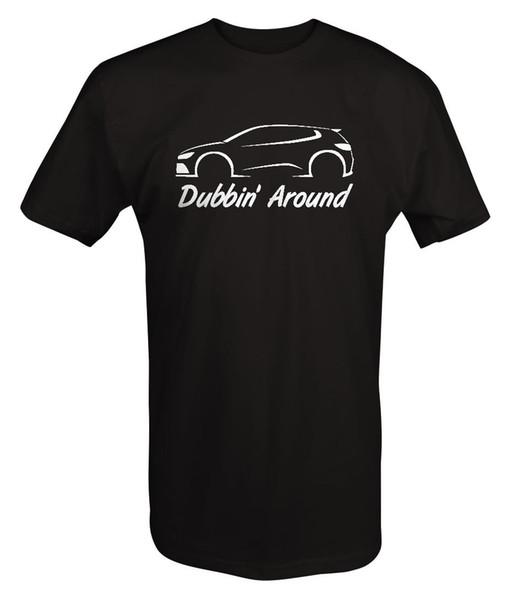 VW - Dubbin 'Around - Turbo Golf Kaninchen GTI R32 AWD T-Shirt