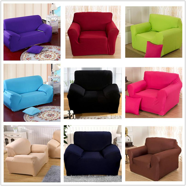 Superb Innovative Textile Spandex Sofa Cover Furniture Protector Solid Colors Furniture Covers 2 Seat 150Cm To185Cm Dining Room Seat Covers Dining Chair Ncnpc Chair Design For Home Ncnpcorg