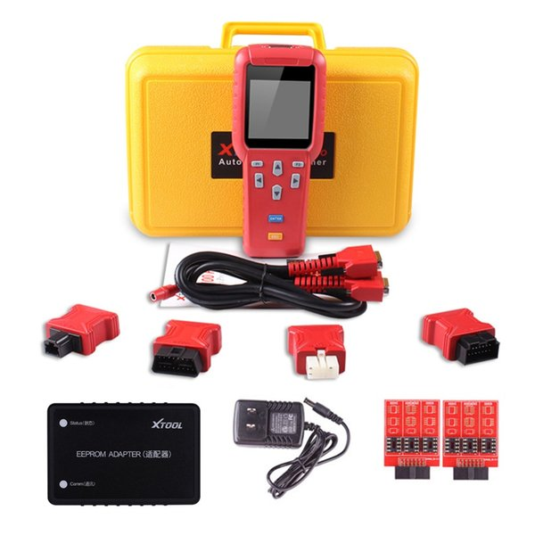 Original XTOOL X100 Pro With EEPROM Adapter Auto Key Programmer Mileage adjustment / Odometer Free Update Online