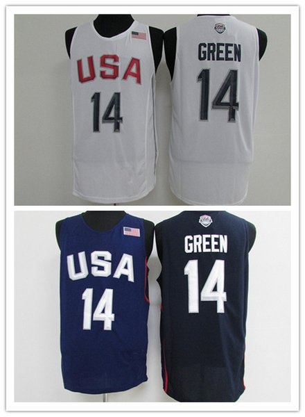 promo code 03400 4ccd9 2018 2016 Olympic Games Usa Dream Team #5 Kevin Durant #11 Klay Thompson  #14 Draymond Green #10 Kyrie Irving #9 Demar Derozan Basketball Jerseys  From ...