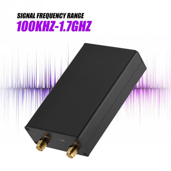 100KHz-1.7GHz Full-Band Software Radio HF FM AM RTL-SDR Receptor con antena