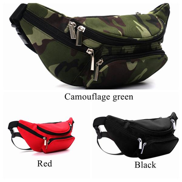 New 2018 New Arrival Zipper Women's Waist Bag Belt Bag Fanny Packs Bag Waist Pack High Quality Travel Money Belt DF0312