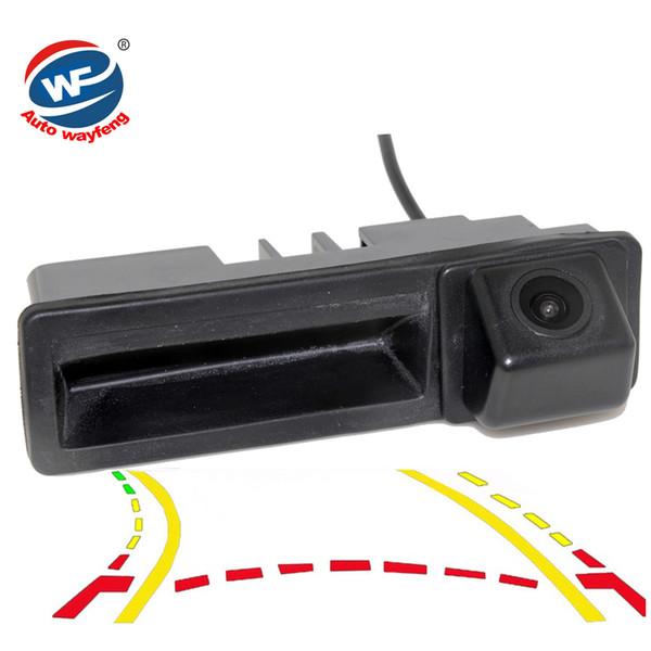 For Cayenne Audi A4 A4L A6 A6L A7 A5 Q7 Q5 Q3 RS5 RS6 A3 A8L CCD Dynamic Trajectory Trunk handle Rear Camera Mirror car Rearview Cam