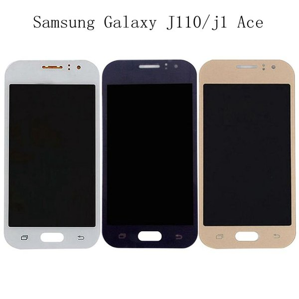 100% Tested super AMOLED LCD For Samsung Galaxy J1 Ace J110 SM-J110F J110H J110FM Screen Display Touch Digitizer Assembly+Free DHL
