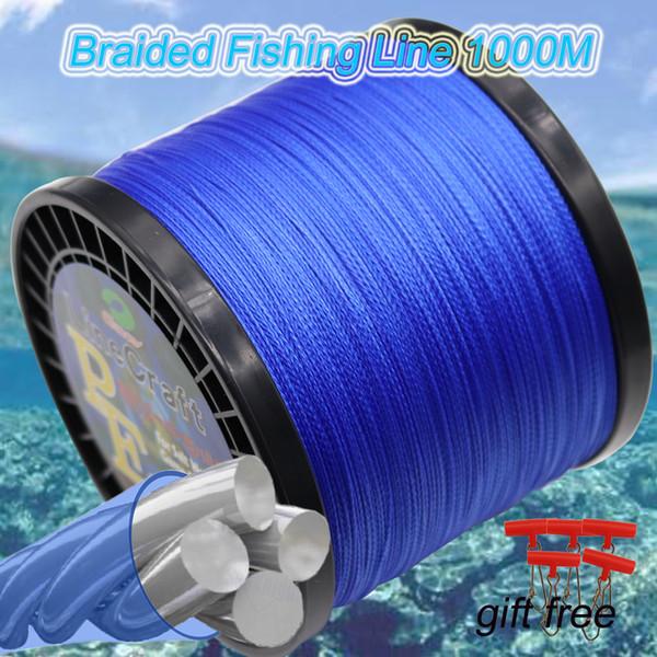 4 Strands Braided Fishing Line 1000M 1093Yards Super Strong Japan Multifilament PE Braided Fishing Line 10lb 20lb 30lb 40lb 50lb 100lb 120l
