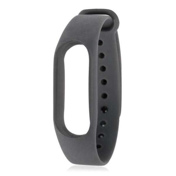 New Soft TPU Original Silicon Wrist Strap WristBand Bracelet Replacement For XIAOMI MI Band 2 Aug07 Drop shipping