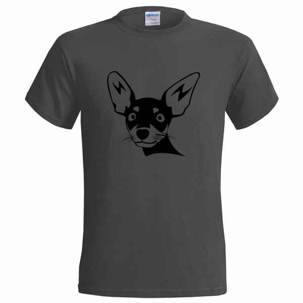 CHIHUAHUA DOG FACE ART MENS T SHIRT PET CANINE DOGS ANIMAL LOVER GIFT PRESENT Comical Shirts Men'S