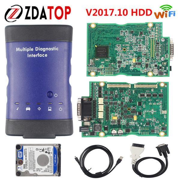 ZOLIZDA V2017.10 Nouveau pour l'interface de diagnostic multiple GM MDI pour le scanner multilingue GM MDI WIFI en vente