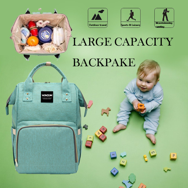 Multifunctional Mommy Backpacks Nappies Bags Diaper Bags Backpack Maternity Large Capacity Outdoor Travel Bags