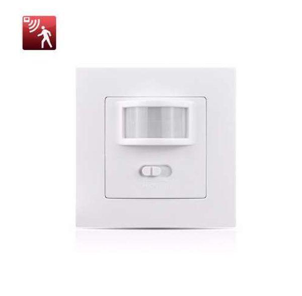 Nuevo sensor de ON-OFF-PIR 3 modos de interruptor de luz LED AC110-240V Interruptor de pared de inducción infrarrojo de movimiento corporal para lámpara LED