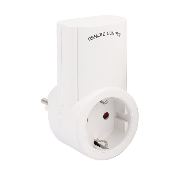 Wireless Outlet Switch with Remote,Electrical Plug Outlet Control for Household Appliance Lamp Light