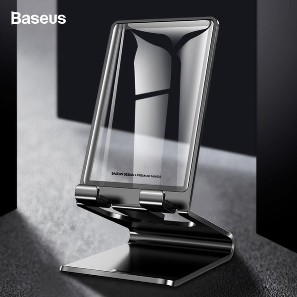 wholesale Mobile Phone Holder Stand For iPhone XS Max iPad Non-slip Table Holder Metal Desk Stand For Phone Samsung Xiaomi Tablet