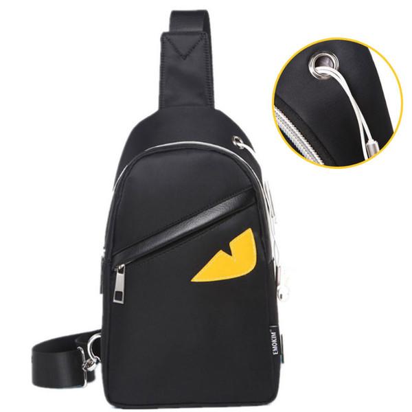 Little Monster Chest Bag Fanny Pack Cinturón Moda Bolsos de cintura para hombre Bolsos de hombro Mochila exterior DHL
