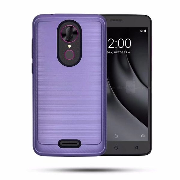 low priced ee989 ad6c5 For Lg Aristo 2 Metropcs Brushed Case Hybrid Armor Phone Cover Pc For Lg X  Power 2 /Model At Least Personalized Cell Phone Case Waterproof Cell Phone  ...
