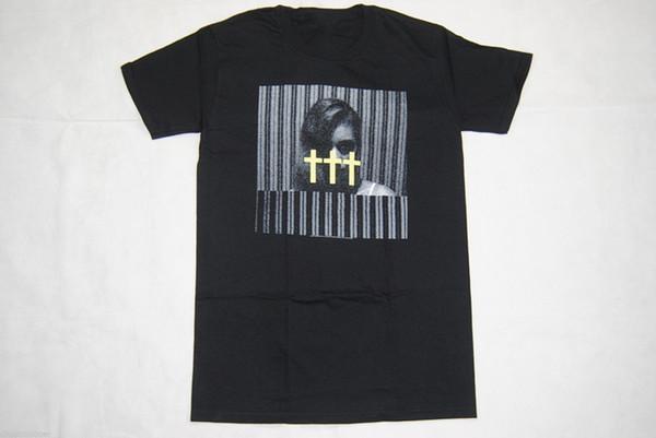 Plantilla de diseño de camiseta Zomer Crosses Girl camiseta amarilla New Band Deftones F camiseta de manga corta O-Neck para hombre