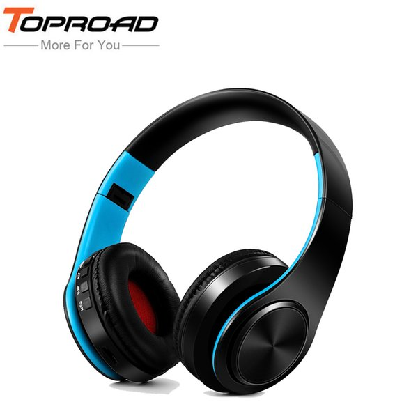 Foldable Bluetooth Headphone Headset Wireless Stereo Headphones Earphone Audio Music Player Support TF Card with Mic