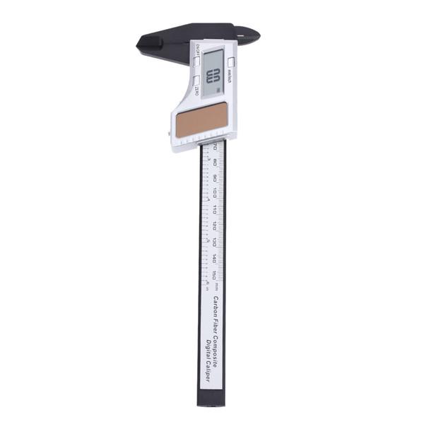 "6"" Solar Powered Digital Vernier Caliper feeler gauge Fiberglass LCD Electronic Callipers digital paquimetro150mm Measuring Tool"