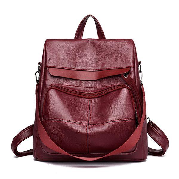 winered backpacks