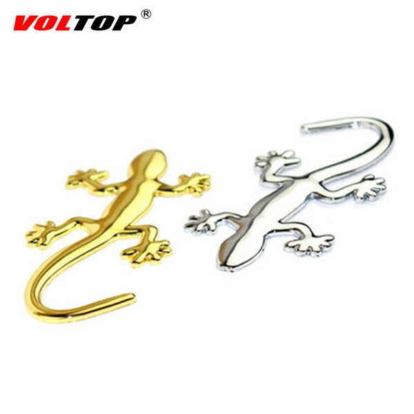 Gecko Car Stickers 3D Stereoscopic Lizard Personality Creative Car Outside Decoration Scratches Blocking Stickers Auto Supplies