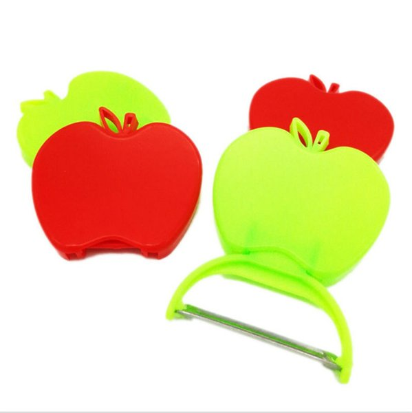 top popular Cheapest Kitchen Tools Simple Stainless Steel Blade Folding Apple Peeler Apple Planing Fruit Peeler Fruit Planing Peeler 2019