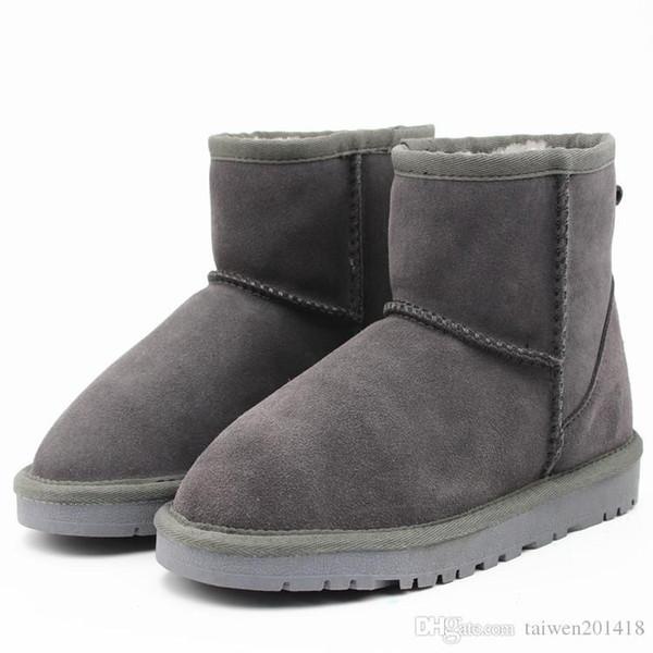2018 Classic Winter Women Popular Australia Genuine Leather Boots Fashion Women Snow Boots US4-US13 Free Shipping