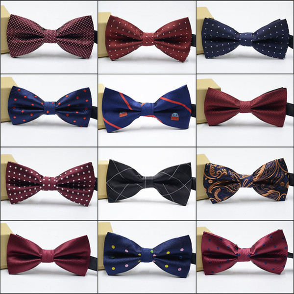 55 Colors Bow Ties for Weddings High Quality Fashion Man And Women Neckties Mens Bow Ties Leisure Neckwear Bowties Adult Wedding Bow Tie