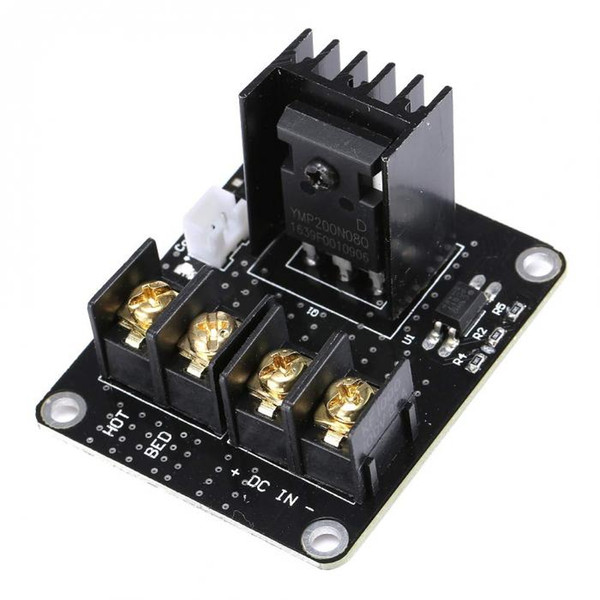 2 Sets Hot Bed Power Module Expansion Board MOS Tube High Current Load Module Kit for 3D Printer XXM8