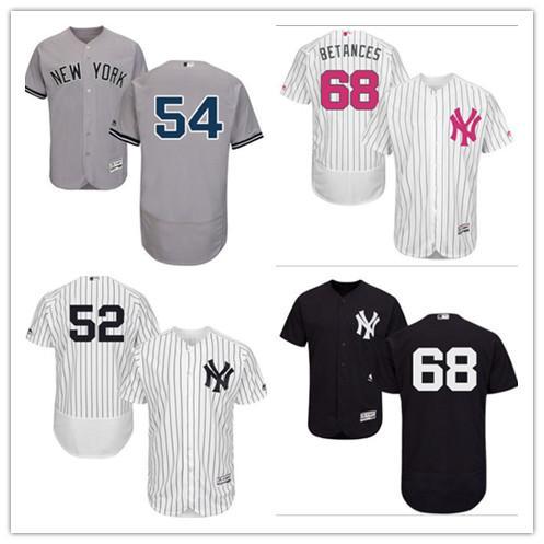 reputable site 776be 87511 2018 Custom Men'S Women Youth Yankees Jersey #54 Aroldis Chapman 68 Dellin  Betances Home Nary Blue White Gray Black Kids Girls Baseball Jerseys From  ...