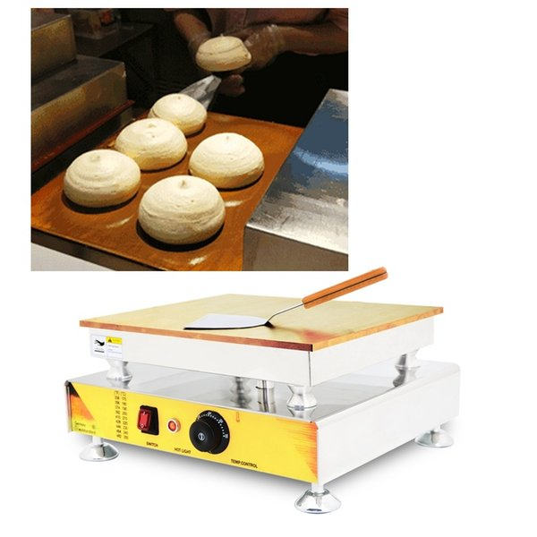 2018 CE Certificateion commerciale singola testa soffice giapponese Souffle Pancakes Souffler Maker Machine con Souffle Pancake Ricetta