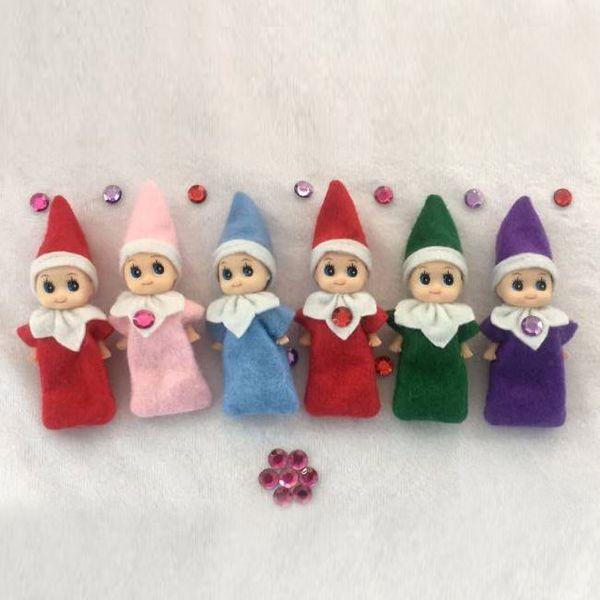 6 Estilo Christmas Elf Doll Peluches Elfos Muñecos de Navidad Decoraciones navideñas Muñecas de peluche para niños Regalo de Navidad ENTREGA INMEDIATA