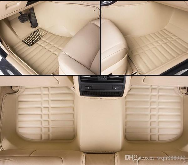 Tapis de sol de voiture de haute qualité pour Toyota Camry RAV4 doublure de tapis de voiture-style RY4