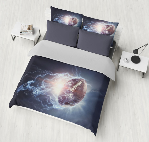 3D Basketball Bedding Set Design Duvet Cover Set pillowcase King Queen Twin Size Drop shipping ball Game Boy/men Gift bedclothes