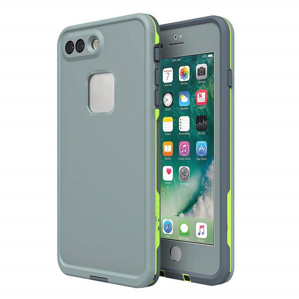 اي فون 8P7P رمادي / أخضر