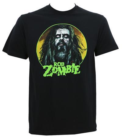 2018 New 100% Cotton T Shirts Men Rob Zombie Face S M L Xl 2Xl 3Xl 4Xl O-Neck Short-Sleeve Tee Shirts