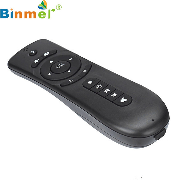 Binmer Mecall FM4 2.4GHz Remote Control Keyboard Wireless Air Mouse for Android TV BOX