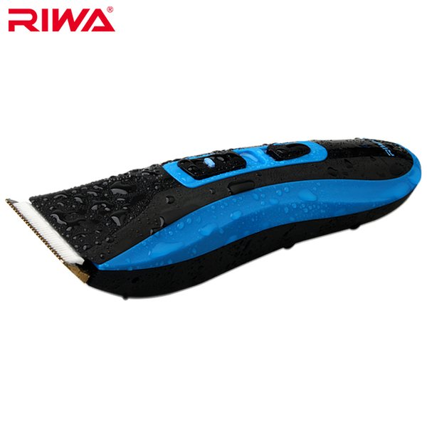 RIWA IPX7 Grade Waterproof Professional Hair Trimmer High Quality CE Certificated Cordless Hair Clipper RE-750A
