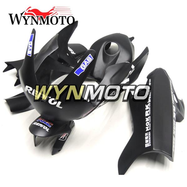 Matte Black Fiberglass Racing Fairings For Honda CBR1000RR 2008 - 2011 Year CBR1000 RR 08 09 10 11 Injection Plastic Body Kits Cowlings