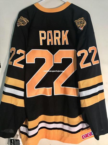 Barato personalizado Premier Jersey BOSTON Bruins Brad Park Mens Preto costura jerseys