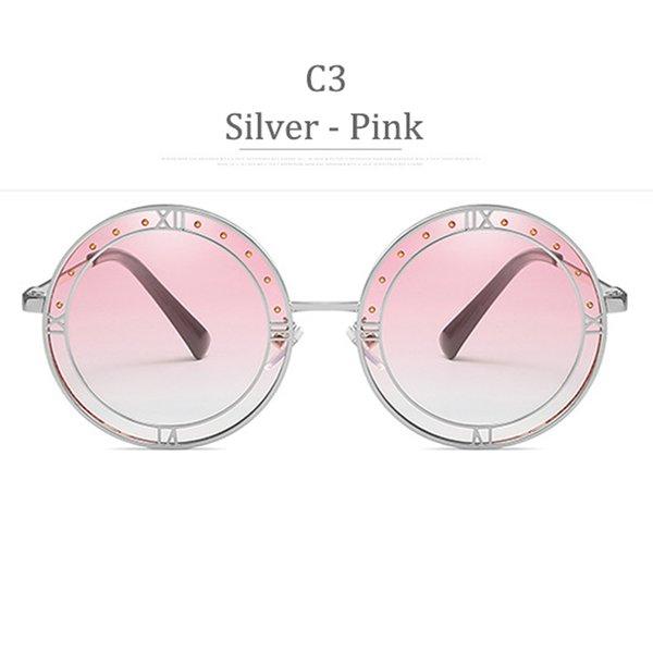 C3 Silver Frame Gradient Pink
