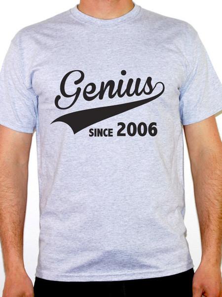 GENIUS INCE 2006 - Doğum Yılı / Doğum Günü Hediyesi / Yenilik Temalı Erkek Tişört