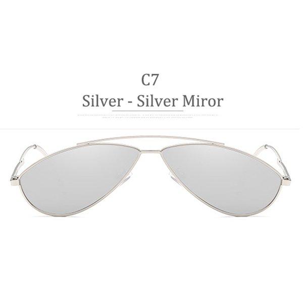 C7 Silver Frame Silver Miror
