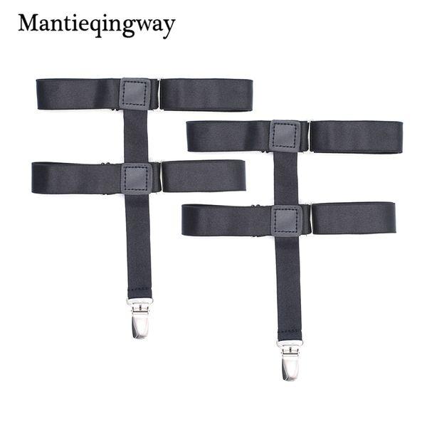 Women Stocking Suspeders Holders Suspensorio Adjustable Elastic Garter Belt Braces Black Shirts Suspenders Strap