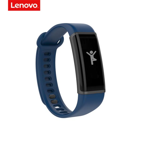Lenovo hx03 smart armband männer frauen 0.87 zoll oled-bildschirm leben leben wasserdicht pulsmesser smart armband sport tracker